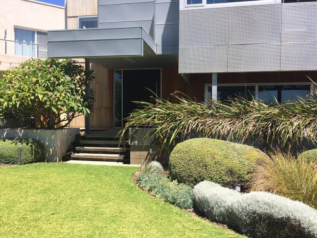 house in Cottesloe with garden makeover