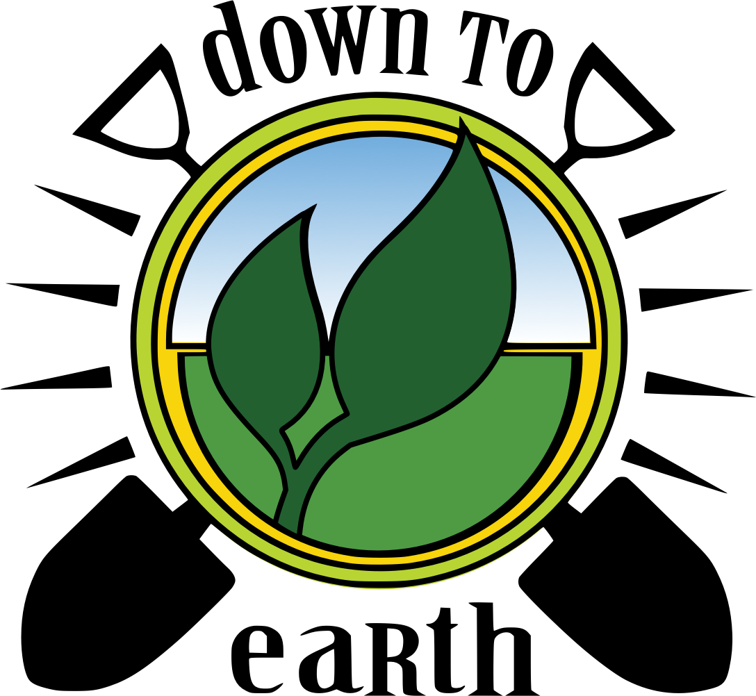 Down To Earth Gardening Logo